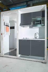 cuisine salle de bain module préfabriqué hybride salle de bain plus cuisine