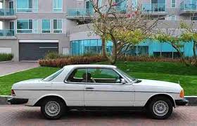 mercedes 300d coupe purchase used 1985 mercedes 300cd turbo diesel 2 dr coupe low