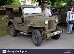army jeep ww2 fully restored world war 2 willys mb us army jeep parked bishops
