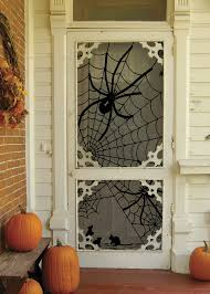 Halloween Home Decorating Ideas Imagenes Halloween Decoracion Puerta Miedo Arana Calabazas Ideas