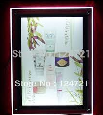 lighted movie poster frame online shop 2016 advertising high quality ultra thin slim wall
