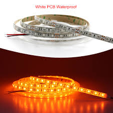 led ceiling strip lights aliexpress com buy 5050 led strip light orange waterproof no