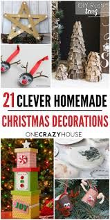 18 clever homemade christmas decorations