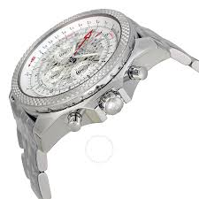 bentley breitling price breitling bentley b04 gmt chronograph silver dial stainless steel