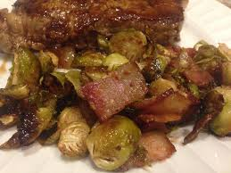 thanksgiving brussel sprouts bacon balsamic honey mustard roasted brussels sprouts with bacon well