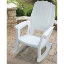 semco recycled plastic rocking chair hayneedle