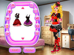 pink punk martini go punk dress up games android apps on google play