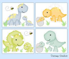 Dinosaur Nursery Decor Dinosaur Nursery Decor Wall Prints Baby Boy Dino Room 1045
