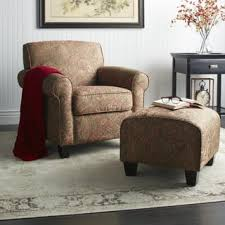Armchairs And Ottomans Chair U0026 Ottoman Sets Living Room Chairs Shop The Best Deals For