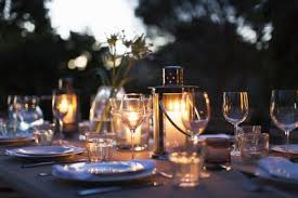 Dining Table Candles Candlelit Dinner Lovetoknow