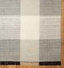 Cotton Flat Weave Rug Plaid Flatweave Rug Flatweave Rugs Apartments And Room