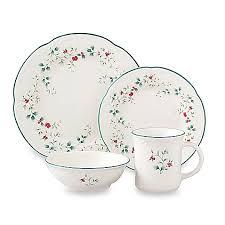 pfaltzgraff winterberry dinnerware collection bed bath beyond