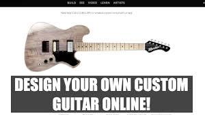 moniker guitars design your own custom guitar online interview