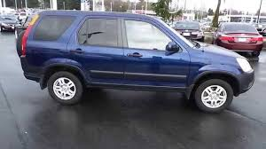 blue book value 2004 honda crv 2002 honda cr v eternal blue pearl stock 31232a walk around