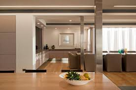 Modern House Dining Room - vaucluse renovation of old house to modern house home building
