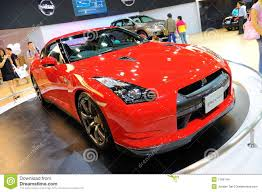nissan singapore nissan gtr sports car on display editorial stock image image