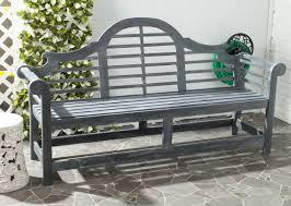 Outdoor Wooden Garden Furniture One Allium Way Liddie Acacia Wood Garden Bench U0026 Reviews Wayfair