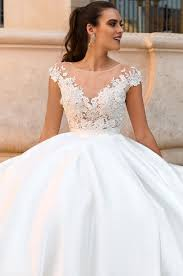 illusion neckline wedding dress wedding gown guide illusion neckline the fashionbrides