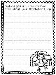 printable thanksgiving day writing prompts thanksgiving story