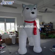 Outdoor Christmas Decorations Huskies by Inflatable Husky Inflatable Husky Suppliers And Manufacturers At