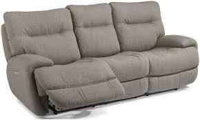 Flexsteel Power Reclining Sofa Flexsteel Latitudes Evian 1446 62ph Power Reclining Sofa With