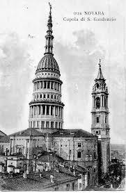 cupola novara novara cupola di s gaudenzio carte postale ancienne et vue d