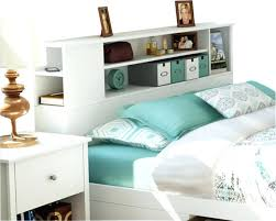 Bookcase Headboard Queen Bed Bookcase Bookshelf Headboard Nz White Queen Bed With Bookcase