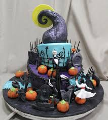 birthday cake halloween the nightmare before christmas another nightmare before