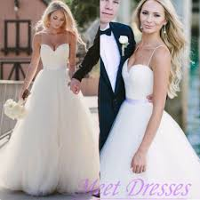 spaghetti wedding dress beautiful wedding dress affordable a line with spaghetti straps