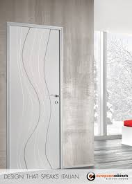 custom doors by barausse wave pattern doors and modern