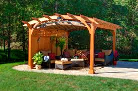 Wood For Pergola by Project Pergola How To Decide On Options Byler Barns