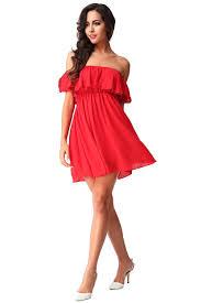 com buy bohemian style 2016 summer elegant off shoulder red mini