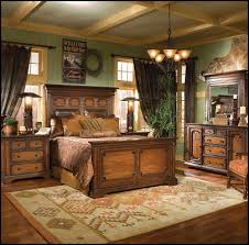 Mexican Rustic Bedroom Furniture Southwestern American Indian Mexican Rustic Style Wolf Theme