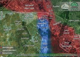 Syria Map Control by Day Of News On The Map August 05 2016 Map Of Syrian Civil War