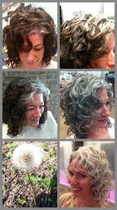 how to grow in gray hair with highlights what a great documentation of how to grow your grey out and