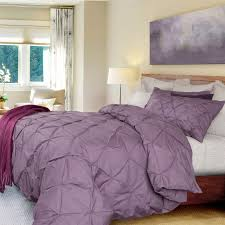 Textured Duvet Cover Sets Pintuck Duvet Cover Set Purple Like A Cloud Floating On Top Of