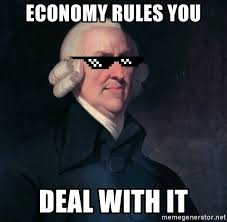 Meme Generator Deal With It - economy rules you deal with it deal with it adam smith meme