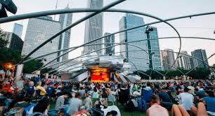 Taste Of Chicago Map Chicago Visit The Usa