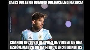 Memes De Messi - memes de messi y di mar祗a tras goleada de argentina en la copa am礬rica