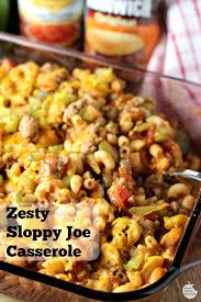 Dinner Casserole Ideas Best 25 Sloppy Joe Casserole Ideas On Pinterest Sloppy Joe