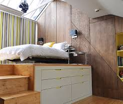 Loft Style Bed Frame Four Tips To Create The Illusion Of Space In Your Loft Lofts