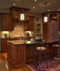 Rustic Cherry Inset Cabinetry With Stained And Glazed Finish - Rustic cherry kitchen cabinets