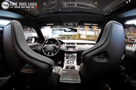 Evoque Interior Photos Cas 2011 Range Rover Evoque Unscene Media