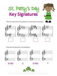 st patrick u0027s day music theory worksheets 9 free printables