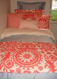 Blue Bedroom Sets For Girls Coral Damask Twin Txl Dorm Bedding Set Decor 2 Ur Door Has