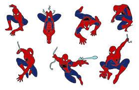 free printable spiderman clipart 72
