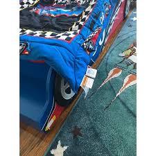 Kidkraft Racecar Bookcase Race Car 4 Piece Standard Toddler Bedding Free Shipping On