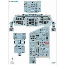 airliner cockpit training posters available at flightstore