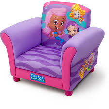 Upholstered Chair by Delta Children U0027s Products Nickelodeon Bubble Guppies Upholstered