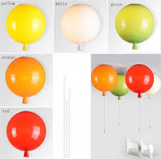 best new arrived color balloon lamp modern simple creative